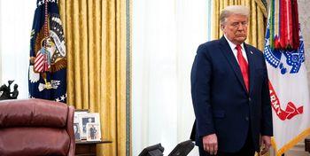 ادعای نیویورک تایمز درباره افسردگی گرفتن ترامپ