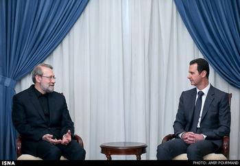 لاریجانی: ایران از اقدام نظامی سوریه حمایت میکند