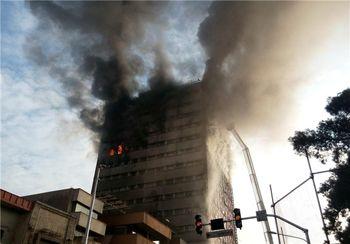 بازداشت 2 نفر در رابطه با احتمال عمدی بود آتش سوزی پلاسکو