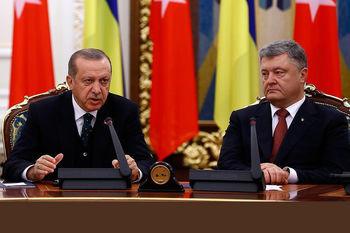 اردوغان الحاق کریمه به روسیه را غیرقانونی خواند