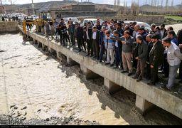 تصاویری از روستاهای سیلزده خراسان شمالی