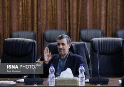 موبایل احمدی نژاد سوژه شد +عکس