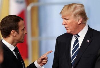 مکرون: درباره ایران، یمن، سوریه و دیگر مسائل جهانی با ترامپ گفتوگو میکنم