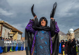 گزارش تصویری سوگواری «زنان زیلایی» در عاشورا