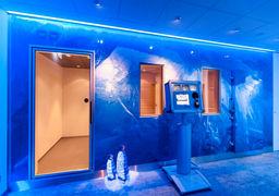 ساخت اتاق های یخی برای ستاره های فوتبال+عکس