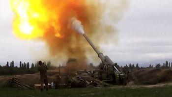 وزیر دفاع قرهباغ زخمی شد