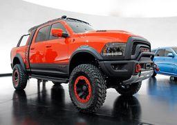 نمایشگاه تیونینگ خودرو در لاس وگاس