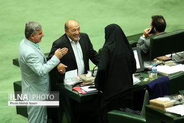 تصاویر جلسه امروز مجلس با حضور ظریف