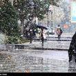 بارش گسترده برف و باران در سراسر کشور و ریزش تگرگ در 5 استان