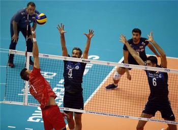 باخت  والیبال ایران برابر ژاپن