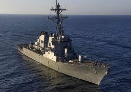 کشتی جنگی آمریکایی وارد خلیجفارس شد