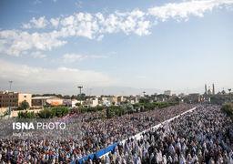 تصاویری از نماز عید فطر تهران