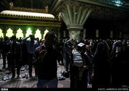 تیراندازی هوایی در حرم امام خمینی (ره)
