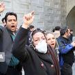 حاشیههای افتتاح پروژه زیرگذر استاد معین؛معترضان: ما اعتراض داریم