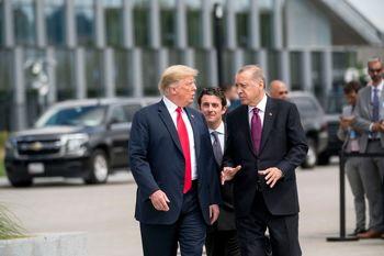 توافق ترامپ و اردوغان پیرامون قتل خاشقچی
