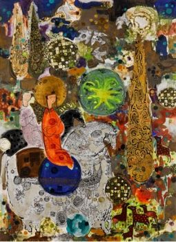 آثار نقاشان ایرانی در حراج آنلاین ساتبیز