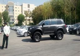 تصاویر توقیف ۵۵ خودروی بچه پولدارهای تهران !