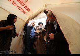 عکس «خاص» رهبر انقلاب در مناطق زلزلهزده + عکس
