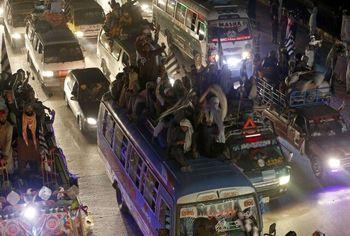 دستگیری صدها تن در پاکستان پیش از راهپیمایی ضددولتی