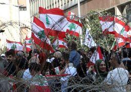 اعتراضات لبنان   انسداد مسیرهای منتهی به کاخ  «سعدحریری» و «میشل عون» + فیلم و تصاویر