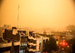 توفان شدید تهران را در نوردید/85 زخمی و یک کشته تلفات توفان  پایتخت در یک هفته گذشته