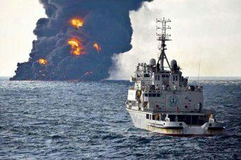 گزارش یورونیوز از جدال آب و آتش؛ یکسال از غرق شدن سانچی گذشت