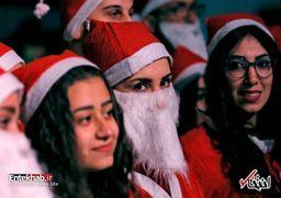 جشن کریسمس در سوریه
