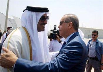 پیام های یک سفر استراتژیک ناگهانی / شیخ تمیم در آغوش اردوغان