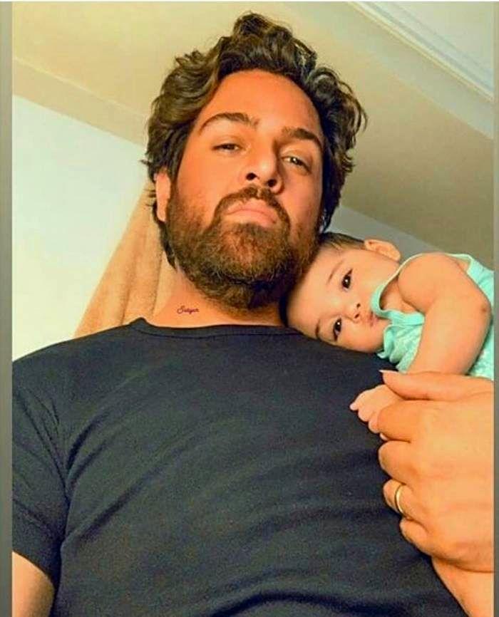 عماد طالب زاده و دخترش