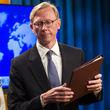 پاسخ سفارت ایران به ادعاهای برایان هوک در جریان سفر به کویت