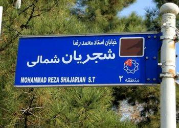 واکنش فرماندار تهران به تغییر تابلوی خیابان شجریان توسط تعدادی از معترضان