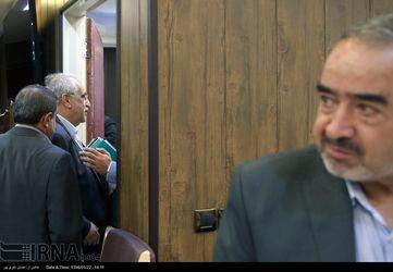 حضور کرباسیان و شریعتمداری در اتاق اصناف ایران