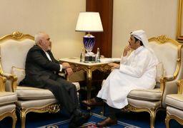 دیدار وزرای خارجه ایران و قطر