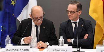 دیدار وزرای خارجه آلمان، فرانسه و انگلیس درباره برجام