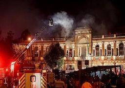 منشا آتشسوزی حسنآباد مشخص نشده است