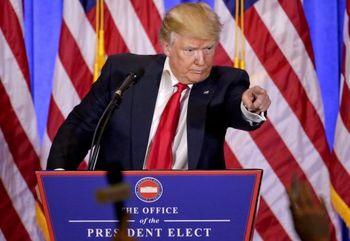 ترامپ متهم می کند!