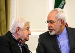 وزیر خارجه سوریه با ظریف دیدار کرد