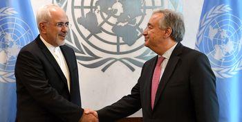 متن نامه مهم ظریف به دبیرکل سازمان ملل