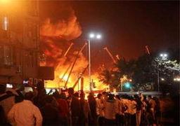 جزئیات و علت آتش سوزی مرگبار هتل ایرانیان در نجف + تعداد تلفات