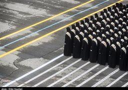 رقابت 155 پلیس زن در همدان