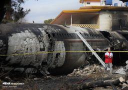 خروج لاشههای گوسفند از هواپیمای سانحهدیده ارتش +فیلم