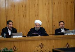 کاملترین عکس کابینه جدید در جلسه هیات دولت + عکس
