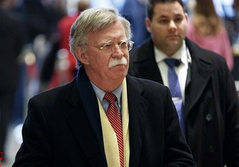 بولتون تنش برای جنگ با ایران میخارد!