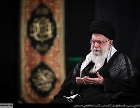 اولین شب مراسم عزاداری ایام شهادت حضرت فاطمهزهرا(س) با حضور رهبر انقلاب+ تصاویر