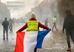 آغاز دور پنجم اعتراضات جلیقه زردها در فرانسه