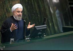 واکنش روحانی به ماجرای فیضیه در جلسه سوال از رئیسجمهور +فیلم