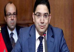 شادی پس از گل مجری عرب پس از قطع روابط مراکش با ایران!