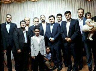 مراسم دامادی پسر رئیس مجلس برگزار شد + عکس