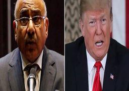 نخستوزیر عراق درخواست دیدار ترامپ را رد کرد