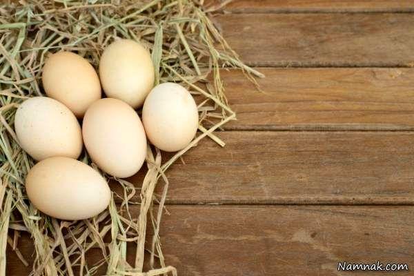 تشخیص تخم مرغ